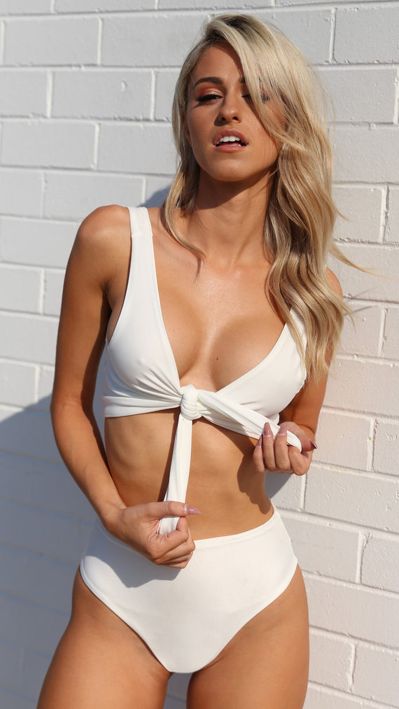 Shape of you Bikini - White