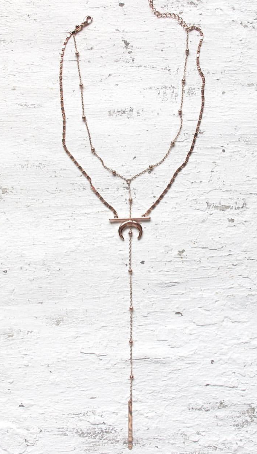 Warrior Necklace - Gold, Silver & Rose Gold - Restocked