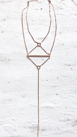 Mesh Necklace - Gold