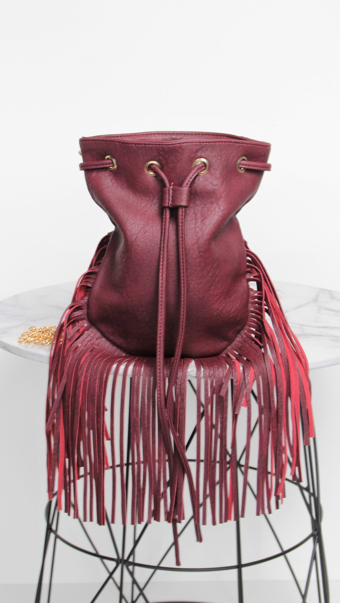 Eddie Fringed Bag