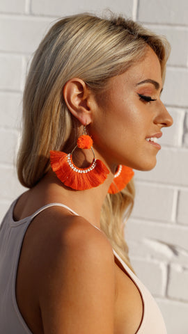Filly Earrings - Orange