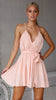 Andrea Dress - Blush