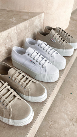 Superga 2790 Linea Up and Down - Taupe