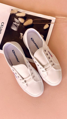 Superga Leather 2790 - FGLW White