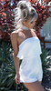 After Dusk Playsuit - White