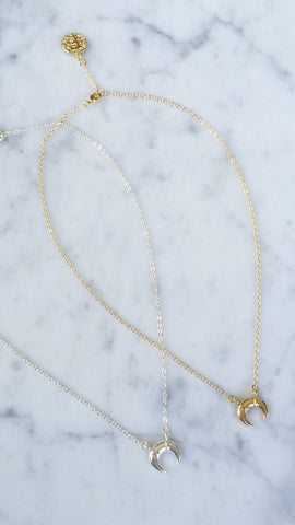 KENDALL CRESCENT  Necklace