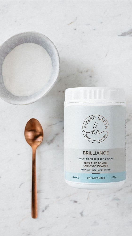 Kissed Earth Brilliance Collagen Powder - Unflavoured