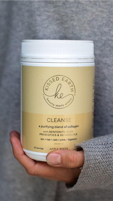Kissed Earth Cleanse Collagen Powder - Apple Beets