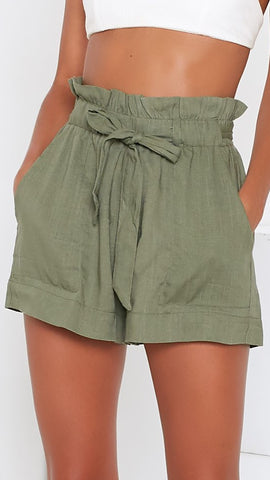 Laney Shorts - Khaki