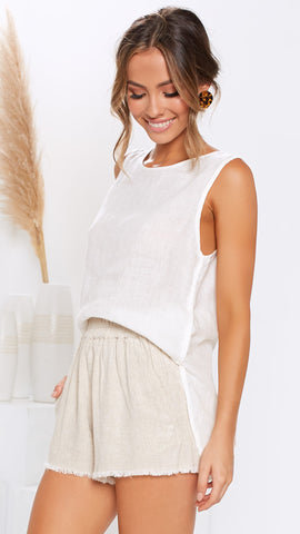 Sun Kissed Top - White