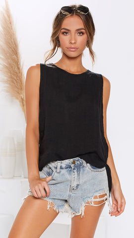 Sun Kissed Top - Black