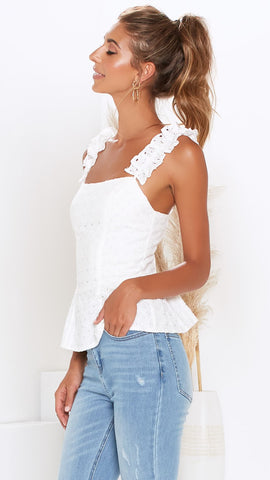 Cameron Top - White
