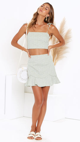 Peppi Skirt - Sage