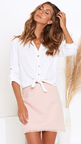 Kendra Shirt - White