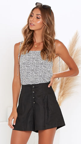 Greer Shorts - Black