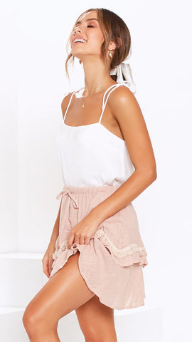 Kia Skirt - Blush