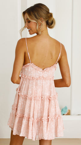 Liyah Dress - Pink