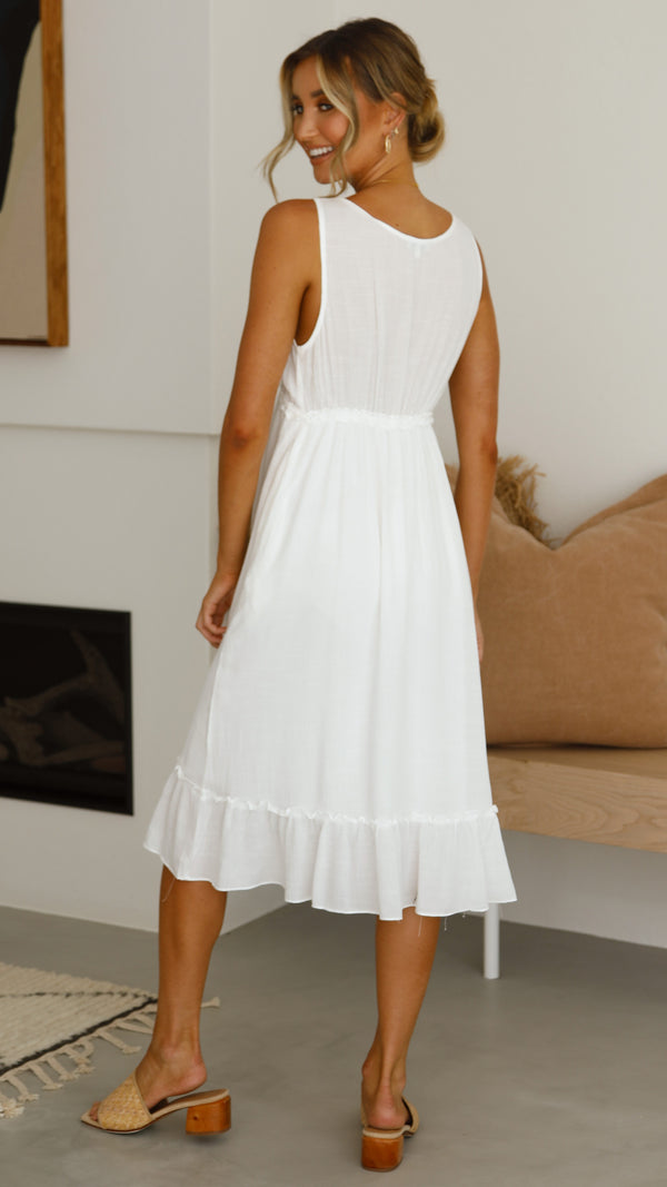 Sherri Dress - White
