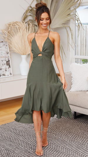 Angie Dress - Olive
