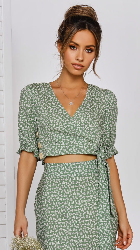 Mossman Top - Green