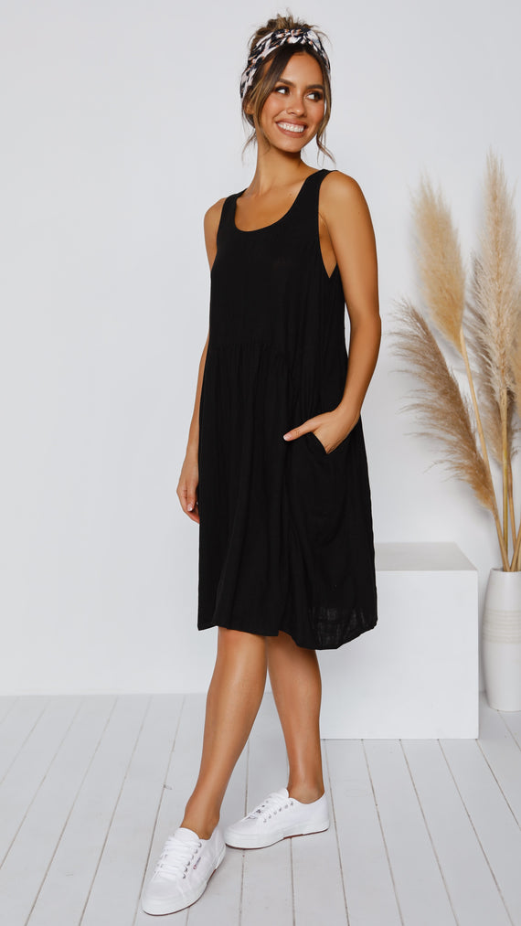 Kaavia Dress - Black