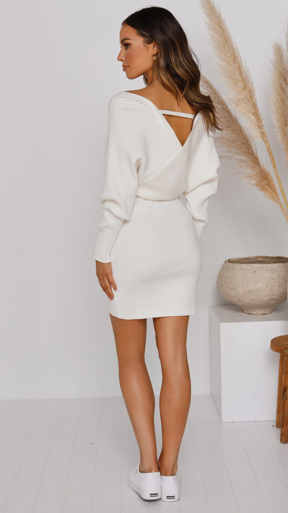 Riley Dress - White