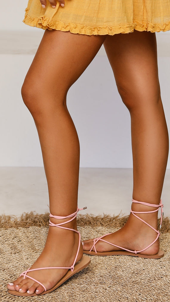 Cindi Sandals - Dusty Candy Nubuck