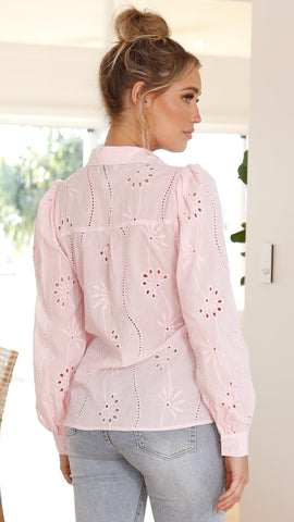 Knowles Blouse - Pink