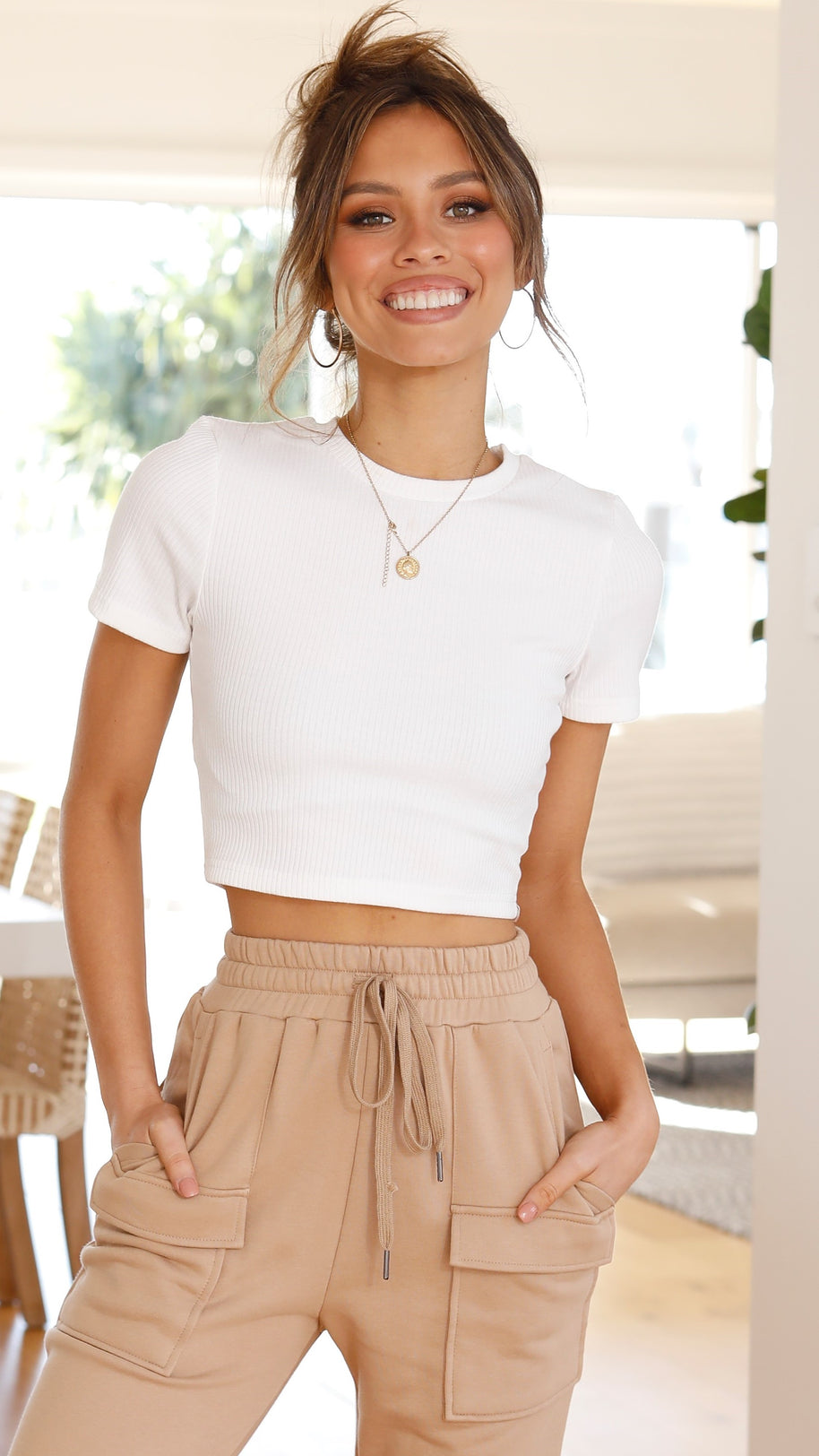 Ayla Top - White