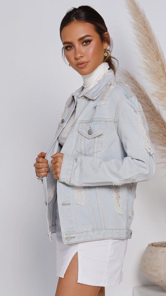 Penny Lane Jacket - Light Denim