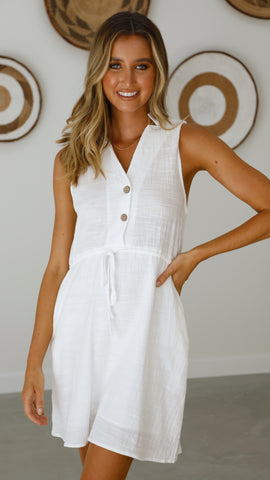 Chase Dress - White