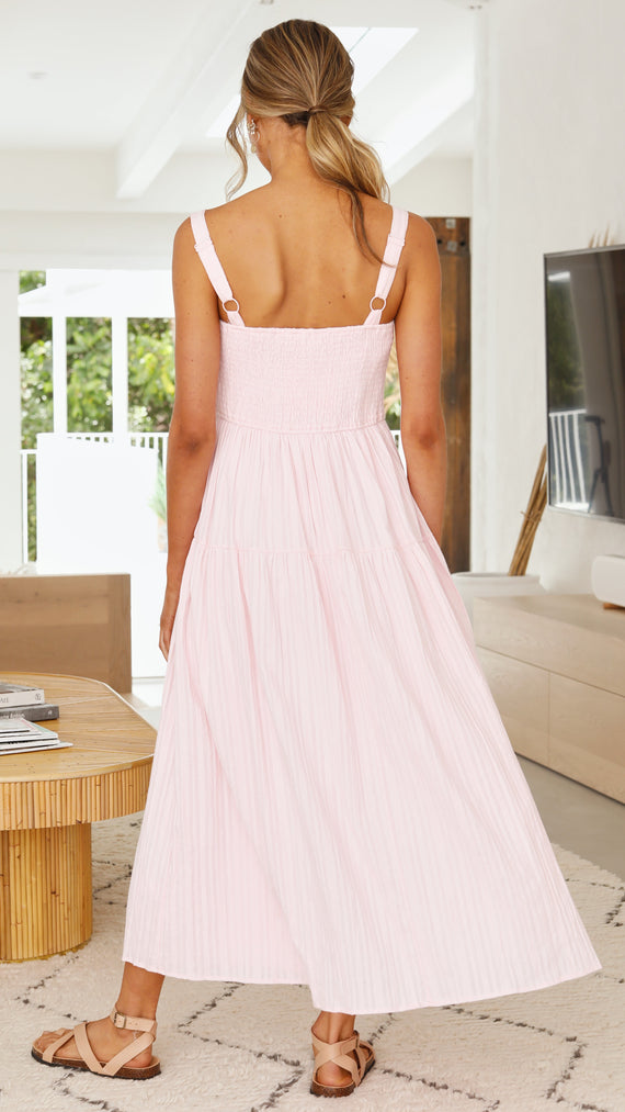 Harmony Maxi Dress - Candy Pink