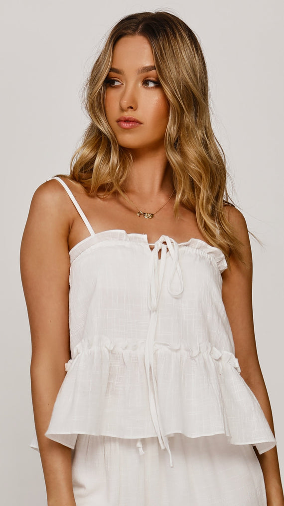 Fia Top - White