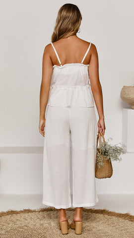 Adair Pants - White