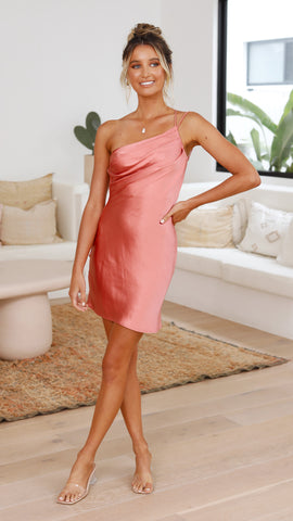 Karlee Dress - Salmon