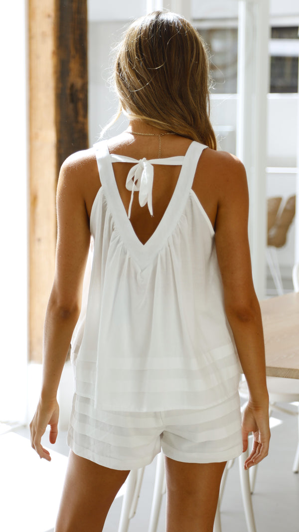 Azariah Top - White