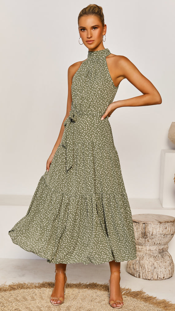 Lizbeth Dress - Green