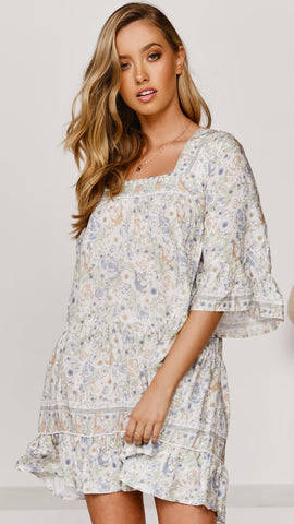 Lou Mini Dress - Floral