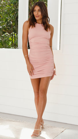 Essentials Dress - Lipstick