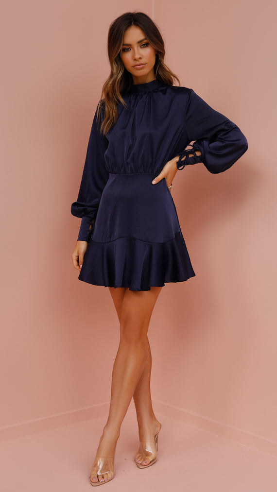 Annie Dress - Navy