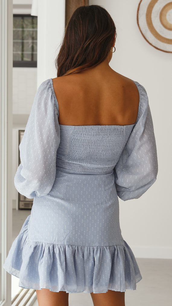 Merella Dress - Baby Blue