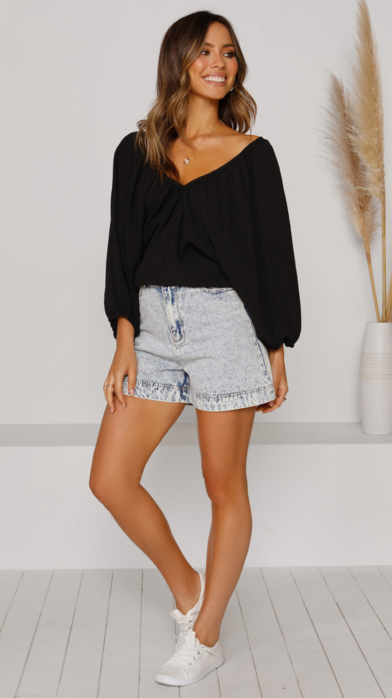 Souline Top - Black