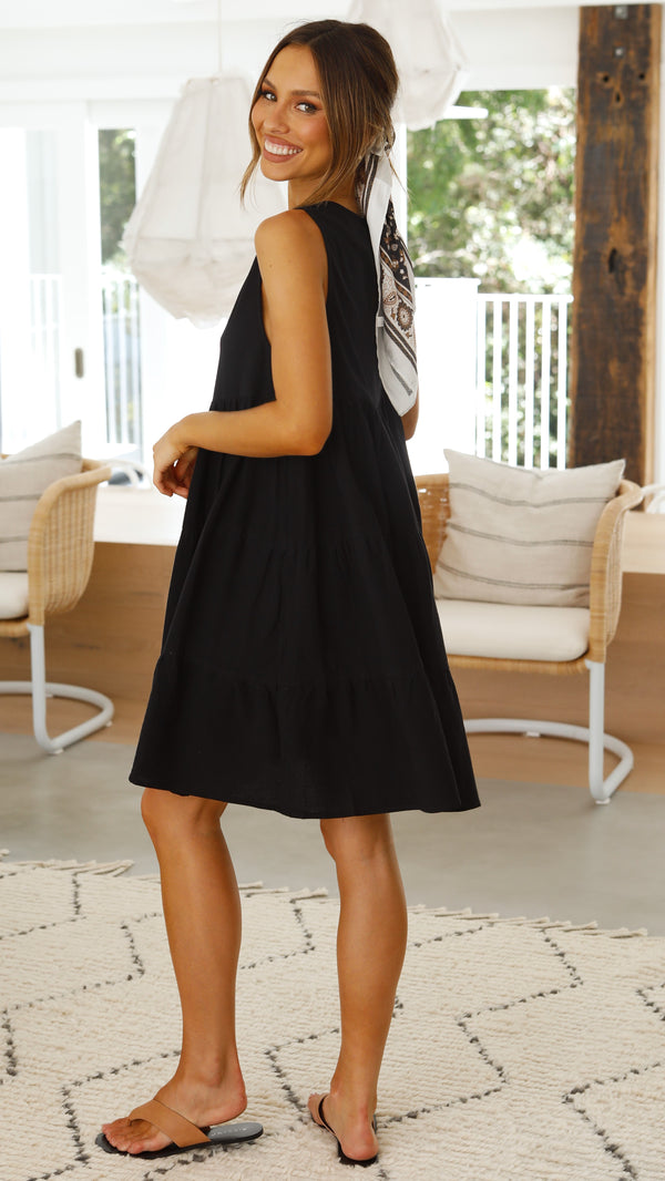 Lulu Mini Dress - Black