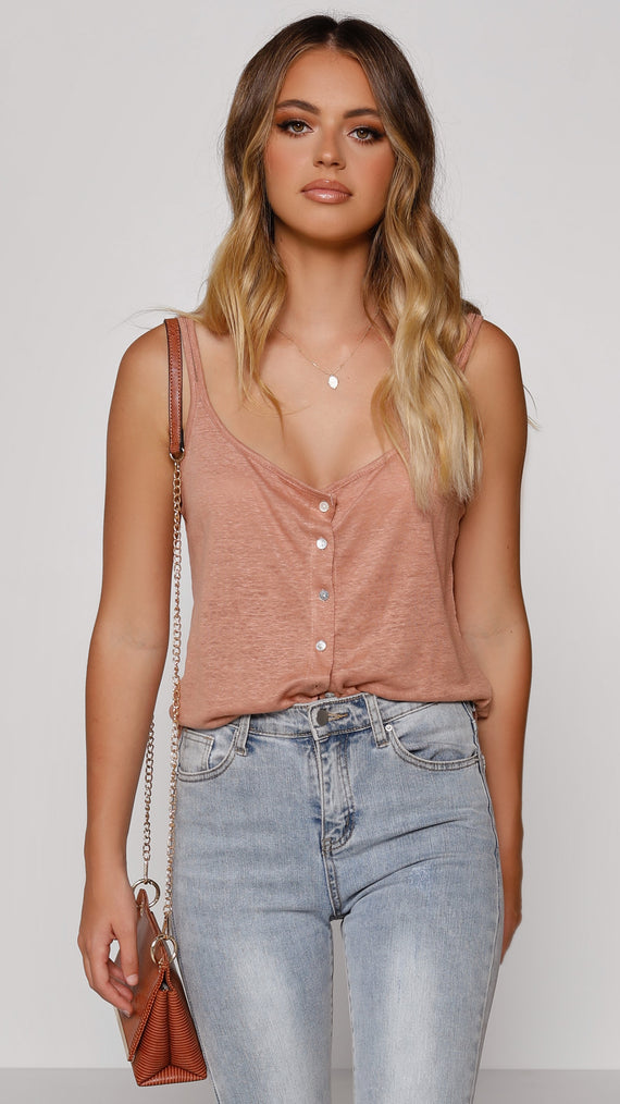 Gianni Top - Dusty Rose
