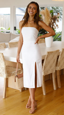 Serena Dress - White