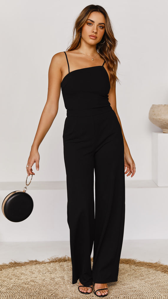 Evolette Jumpsuit - Black