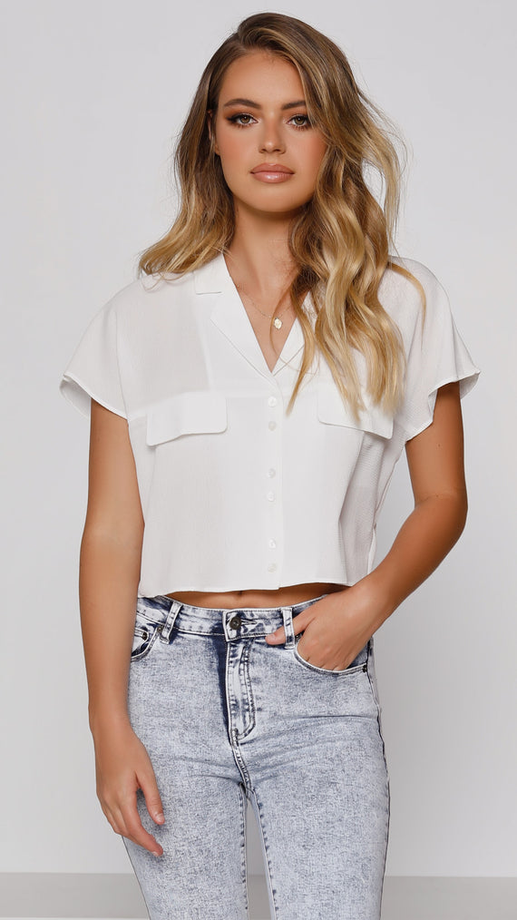 NEW CHAPTER Top - White