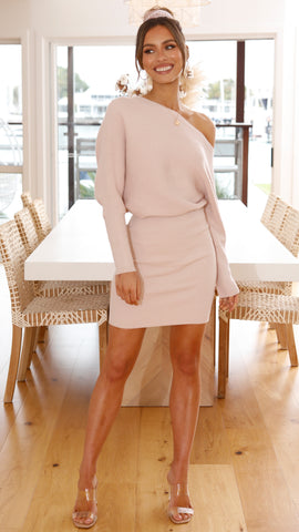 Vanna Dress - Blush