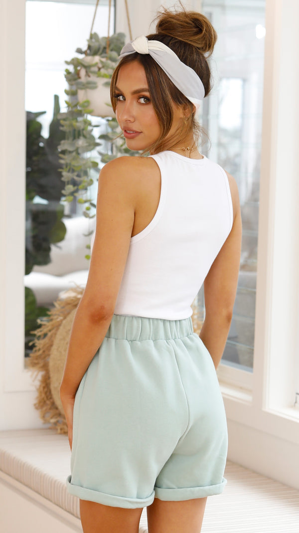 Aloe Shorts - Green