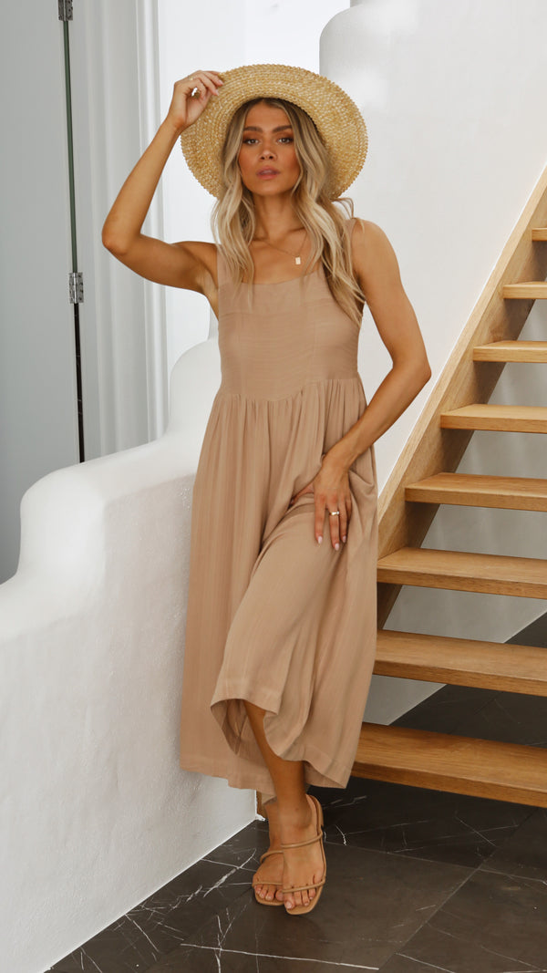 Noa Jumpsuit - Brown